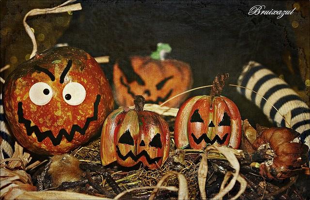 calabazas pumpkins muñeca pasta hallowen macromondays trickortreat
