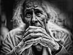 Main Christian (Olympus Passion eric leroy) Tags: portrait noirblanc white black human face homme man olympus omd em1 mkii zuiko 45mm f12 45f12 45mmpro pro