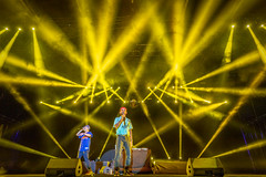 The Lion City Boy (BP Chua) Tags: thelioncityboy singapore f1nightrace singaporegp concert singer artist stage lights yellow canon man