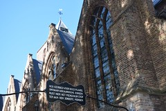 Abbenbroek (TedXopl2009) Tags: abbenbroek zuidholland netherlands nederland voorneputten bord kerk kerkhof begraafplaats