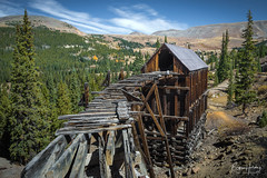 """""""Time Falling Through the Cracks"""" - Leadville, Colorado (www.rootsstudiophoto.com) Tags: coloradophotography mininghistory miningphoto leadvillecolorado oldwest ghosttown rockymountains"""