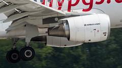 Airbus A320-214(WL) TC-DCA Pegasus (William Musculus) Tags: airport spotting tcdca pegasus airbus a320214wl bsl mlh eap basel mulhouse euroairport freiburg lfsb pc pgt a320200 close up engines engine cfm56