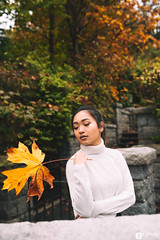Hello Fall w/ Gabriella (Kapture The Light) Tags: fall vancouver autumn stanley park portrait moody yellow orange nature canada nikon d750 sigma art 35mm
