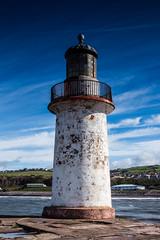 Outside Breakwater Old Lighthouse (SKAC32) Tags: whitehaven cumbria lighthouse disused bluesky atlanticocean irishsea