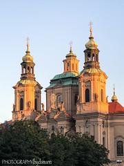 ST NICHOLAS CHURCH (PHOTOGRAPHY|bydamanti) Tags: prague czechrepublic cz church stnicholaschurch oldtownsquare europe iphonex