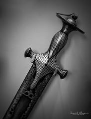 D75_5680 (@sumitdhuper) Tags: wallshare background whitespace sword artistic art artecraft blackandwhite ancient old