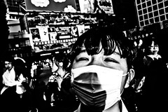 Shibuya Portrait (Victor Borst) Tags: closeup japan street tokyo2018 shibuya streetphotography streetlife reallife real realpeople asia asian asians faces face candid travel urban urbanroots urbanjungle blackandwhite bw mono monotone monochrome beautiful beauty people close up city cityscape citylife fuji fujifilm xpro2 expression