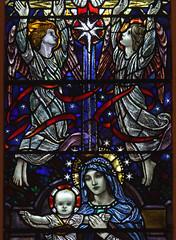 Star of Bethlehem (Aidan McRae Thomson) Tags: leicester church leicestershire stainedglass window artscrafts karlparsons