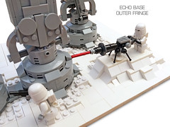 Echo Base Outer Fringe 8 (Rubblemaker) Tags: moc lego starwars star wars toys building blocks atat hoth