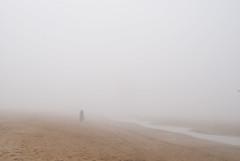 essaouira 2 (With The Crash Of Each Wave) Tags: africa morocco fog mist ocean atlantic beach loneliness alone essaouira