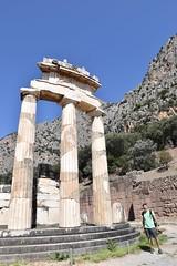fullsizeoutput_8c69 (lnewman333) Tags: delphi greece europe sanctuaryofathenapronaia athena goddess greekmythology archaeologicalsite ancient historic ruins archaeology mountparnassus 4thcenturybc ancientgreece delphoi