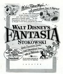 Fantasia in SuperScope (1956) (BudCat14/Ross) Tags: disney fantasia widescreen 1950s 1956 superscope stokowski animation