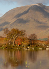 Lochan na Achlaise Morning Light (RichRobson) Tags: morninglight awesometrip solotravel lochannahachlaise rannoch moor glencoe a82 startofmync500roadtrip nc500 autumncolour autumncolor