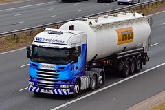 PK67 URS (Martin's Online Photography) Tags: scania r450 truck wagon lorry vehicle freight haulage commercial transport a1m northyorkshire nikon nikond7200 wstransportation