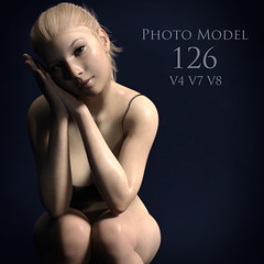 Photo Model 126 (Adam Thwaites) Tags: free photo model pose genesis3female genesis8female victoria4 poser dazstudio daz3d