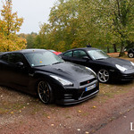 20181007 - Nissan GT-R - Porsche 911 Turbo - N(1997) - CARS AND COFFEE CENTRE - Domaine de la Tortiniere thumbnail