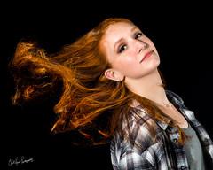 Hailey (ClintHeeeerod) Tags: diystudio homestudio beautydish portrait headshot model nikon85mmf18 d yongnuo glamorous female woman flash speedlight