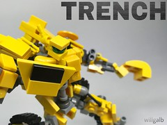 *Trench Quote Unavailable* (willgalb) Tags: moc model figure toy movie autobot tlk lastknight trench transformers lego