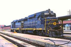 SCL 1318                   6-26-81 (C E Turley) Tags: railway scl gp30