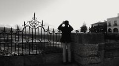The photographer (Jose Abadin) Tags: fotógrafo bw blancoynegro landscape ronda andalucia foto travel