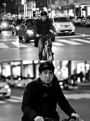 [La Mia Città][Pedala] (Urca) Tags: milano italia 2018 bicicletta pedalare ciclista ritrattostradale portrait dittico bike bcycle nikondigitale scéta biancoenero blackandwhite bn bw 115843