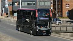Football Transfer (londonbusexplorer) Tags: reading buses newbury district adl enviro 400 mmc sn16oha f1 station madejski stadium bus football shuttle