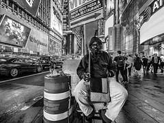 The Way (C@mera M@n) Tags: blackandwhite city manhattan ny nyc newyork newyorkcity newyorkcityphotography newyorkphotography people places street streetportait timessquare urban outdoors