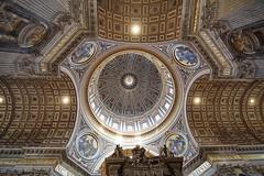 Petersdom (markus_kaeppeli) Tags: rome rom kuppel vatikan vaticano