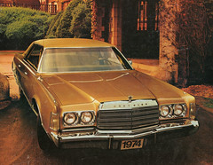 1974 Chrysler New Yorker Brougham 4 Door Hardtop (coconv) Tags: car cars vintage auto automobile vehicles vehicle autos photo photos photograph photographs automobiles antique picture pictures image images collectible old collectors classic ads ad advertisement postcard post card postcards advertising cards magazine flyer prestige brochure dealer 1974 chrysler new yorker brougham 4 door hardtop 74 mopar