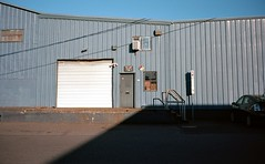 Central Eastside Industrial (spiritusmentis) Tags: contax t3 kodak ektar 100 portland oregon carlzeiss 35mm f28 sonnar northeast central eastside southeast industrial pakon f135 plus film analog photography