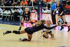 Not quite enough (RPahre) Tags: volleyball northwesternuniversity northwestern dig kill illinois champaign universityofillinois bigten b1g hannalesiak michellelee copyrighted robertpahrephotography donotusewithoutpermission