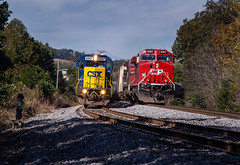 Passing (WillJordanPhoto) Tags: kd subdivision csx amhearst yn2 knoxville canadian pacific railroad trains