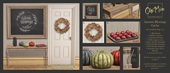 ChiMia - Autumn Blessings Gacha at Lootbox Event (September '18) (ChiMia & Havendale Village) Tags: chimia autumn fall gacha mesh original slocca second life secondlife warm cosy hygge home furniture decor apples beautiful lootbox rare chimiasl