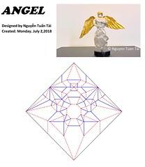 ANGEL - designed by Nguyễn Tuấn Tài (Nguyễn Tuấn Tài) Tags: origami angel paper