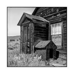 doghouse • bodie, ca • 2018 (lem's) Tags: doghouse niche house maison ghost town ville fantome desert bodieca california rolleiflex t