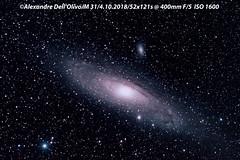 M31 (achrntatrps) Tags: nightshot d5300 nikon photographe photographer alexandredellolivo dellolivo lachauxdefonds suisse nuit night nacht andromède andromeda m31 galaxie galaxy achrntatrps achrnt atrps radon200226 radon etoiles stars sterne estrellas stelle astronomie astronomy nicht noche notte nikkor200400f4vri suivi astrophotographie iris messier31 ngc224 greatandromedanebula spiralgalaxy twin1isr2 eosforastro skywatchereq6rpro