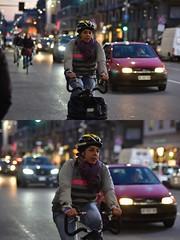 [La Mia Città][Pedala] (Urca) Tags: milano italia 2018 bicicletta pedalare ciclista ritrattostradale portrait dittico bike bicycle nikondigitale scéta 115917