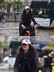 [La Mia Città][Pedala] (Urca) Tags: milano italia 2018 bicicletta pedalare ciclista ritrattostradale portrait dittico bike bicycle nikondigitale scéta 11593