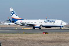 500_3810_TC-SEN_737_SunExpress_FRA_10102018 (shamrockei105) Tags: tcsen boeing 737 sunexpress fra frankfurt eddf 10102018