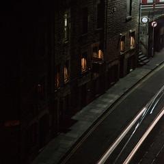 Dark City | Trainspotter's Corner #1 (bnrynlds) Tags: portra 100t edinburgh bronica etrsi