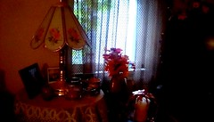 Home Autumn decorations - HWW (Maenette1) Tags: autumn decorations lamp table home menominee uppermichigan happywindowswednesday flicker365 allthingsmichigan absolutemichigan projectmichigan
