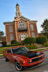 1969 Ford Mustang (Chad Horwedel) Tags: 1969fordmustang fordmustang ford mustang classic car kendallcountyhistoricalcourthouse yorkville illinois