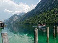 St. Bartholoma - Königssee #3 (KaterinaN.) Tags: nika königssee st bartholoma germany lake boat