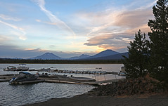 Fall Sky (Team Hymas) Tags: oregon crane prairie reservoir sunset clouds water