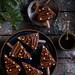 Holiday chocolate cake