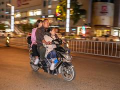 Chengdu modern (motor) biking at night-20 (walterkolkma) Tags: china chengdu sichuan bike motor biking night ride portraits cycle motorbike riding walter kolkma panasonic gx850