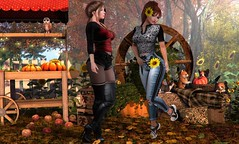 Herbstmarkt (nannja.panana) Tags: tmcreation cncreations candydoll catwa dreamscapesartgallery dubaievent entangled foxy ikon nannjapanana nativeurban session spirit stealthic tlchomecollection uber ultraevent