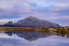 Autumn reflection (Petra Schneider photography) Tags: vesterålen norge reflection spiegelung norwegen autumn lake nordland h eath langøya