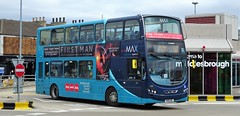 Middlesbrough (Andrew Stopford) Tags: nk61ebl vdl db300 wright 2dl eclipse arriva max middlesbrough nebuses