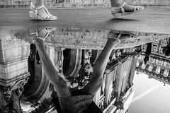 Parisienne (Mustafa Selcuk) Tags: 16mm 2018 october paris fujifilm september travel xt2 parisienne streetphotography street streetshooter blackandwhite bnw bw noiretblancphotographie noiretblanc noiretblancphotos reflections reflexion opera